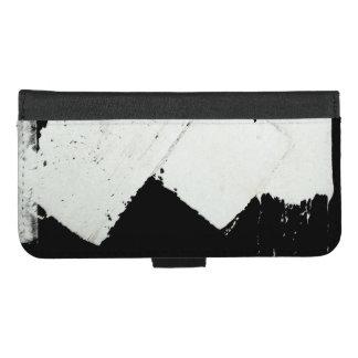Coque Portefeuille Pour iPhone 8/7 Plus L'inscription de circulation routière de trottoir