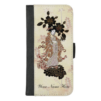 Coque Portefeuille Pour iPhone 8/7 Plus Madame Butterfly