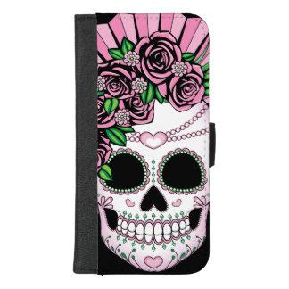 Coque Portefeuille Pour iPhone 8/7 Plus Madame Sugar Skull