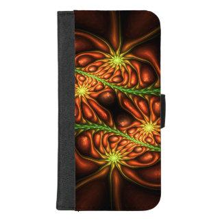 Coque Portefeuille Pour iPhone 8/7 Plus Mauvaises herbes