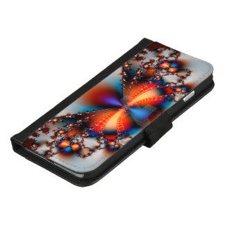 Coque Portefeuille Pour iPhone 8/7 Plus Papillon de fractale
