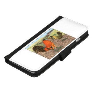 Coque Portefeuille Pour iPhone 8/7 Plus Volaille de jeu à la ferme