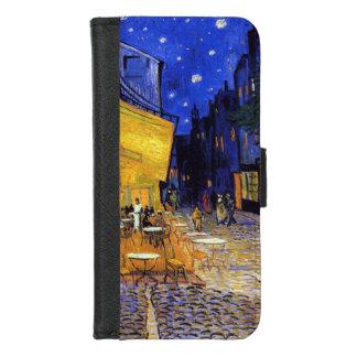 Coque Portefeuille Pour iPhone 8/7 Terrasse de café la nuit par Vincent van Gogh