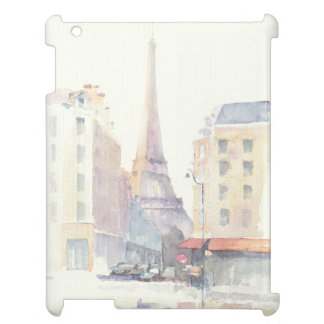 Coque Pour iPad Aquarelle de Tour Eiffel   Paris