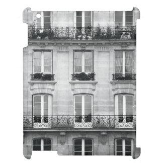 Coque Pour iPad Bâtiment vintage noir et blanc du voyage | à Paris
