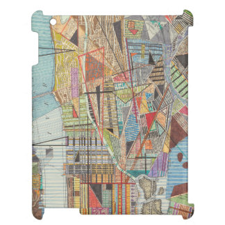 Coque Pour iPad Carte moderne de New York I