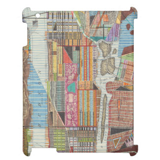 Coque Pour iPad Carte moderne de New York III