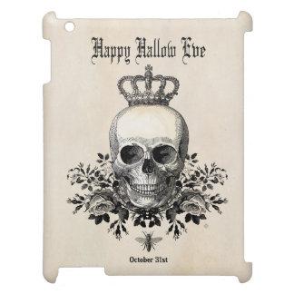 Coque Pour iPad Crâne vintage moderne de Halloween avec la