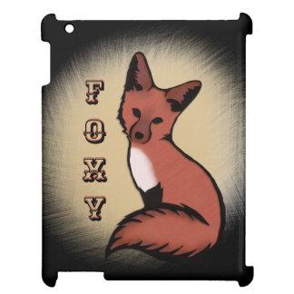 Coque Pour iPad Fox rusé rouge astucieux