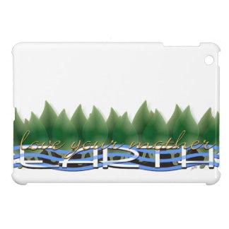 Coque Pour iPad Mini Aimez votre Terre : Verdissez le feuille et l'eau