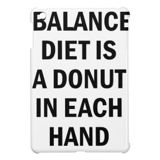 Coque Pour iPad Mini Alimentation équilibrée