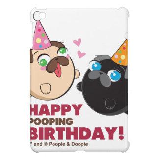 Coque Pour iPad Mini Anniversaire de Poopie et de Doopie