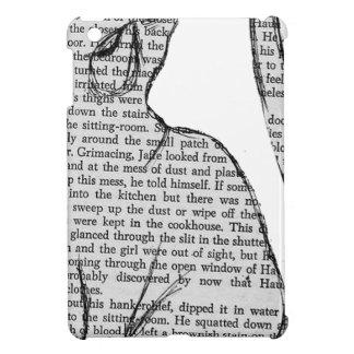 Coque Pour iPad Mini autocollant de livre de lecture de chat