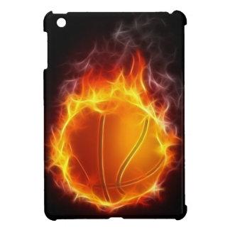 Coque Pour iPad Mini Basket-ball cas d'iPad du feu de mini