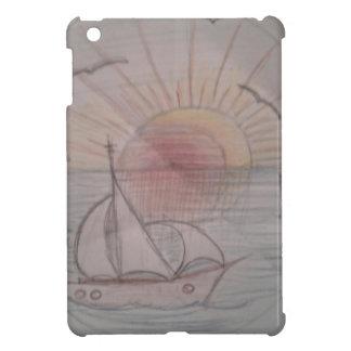 Coque Pour iPad Mini Bleu du soleil d'amusement