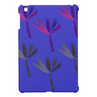 Coque Pour iPad Mini Bleu exotique de paumes de conception
