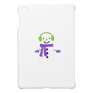 COQUE POUR iPad MINI BONHOMME DE NEIGE MIGNON