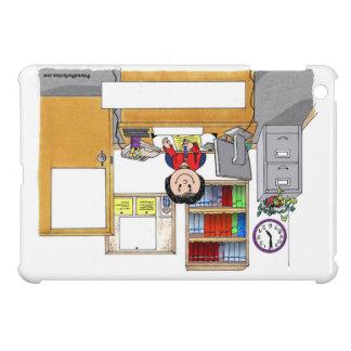 Coque Pour iPad Mini Bureau, femelle - cadeau personnalisé de bande