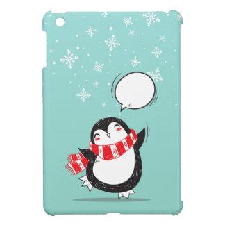 Coque Pour iPad Mini Cadeau turquoise mignon de Noël de Noël de