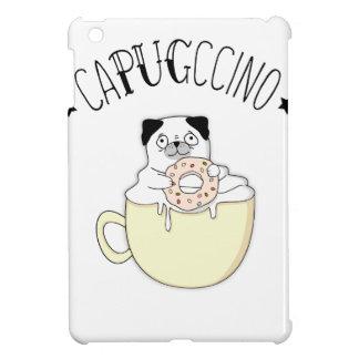 Coque Pour iPad Mini CaPUGccino mignon superbe ! Carlins et café, quoi