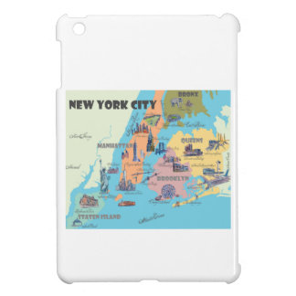 Coque Pour iPad Mini Carte de New York