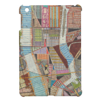 Coque Pour iPad Mini Carte moderne de New York II