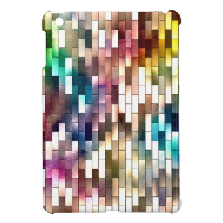Coque Pour iPad Mini Cas d'iPad brillant intuitif de cas de Brickwall
