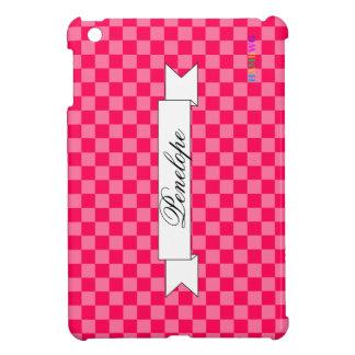 Coque Pour iPad Mini Cas   dur brillant de HAMbyWG - neige fondue rose