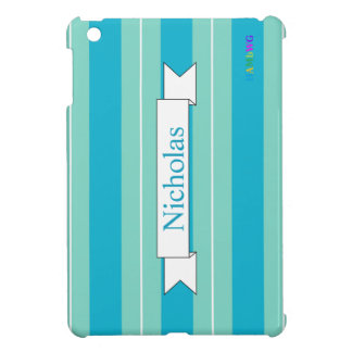 Coque Pour iPad Mini Cas dur brillant d'iPad de HAMbyWG mini - Aqua