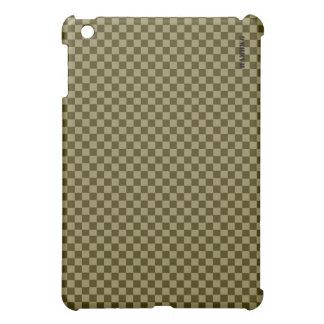 Coque Pour iPad Mini Cas   dur de HAMbyWG - guingan olive