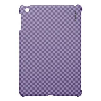 Coque Pour iPad Mini Cas   dur de HAMbyWG - guingan pourpre