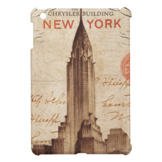 Coque Pour iPad Mini Chrysler vintage construisant à New York