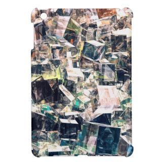 Coque Pour iPad Mini Collection chaotique de cubes