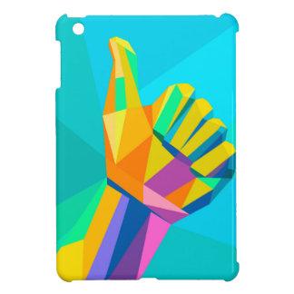 Coque Pour iPad Mini Comme le style géométrique de signe de main