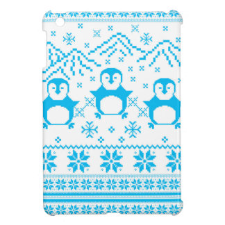 Coque Pour iPad Mini Conception scandinave bleue mignonne de vacances