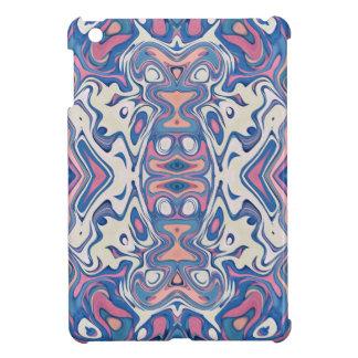 Coque Pour iPad Mini Couches chaotiques colorées