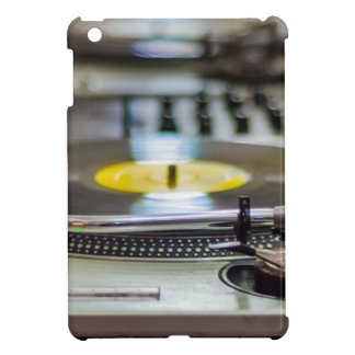 Coque Pour iPad Mini Cru de vinyle de plaque tournante rétro de bruit