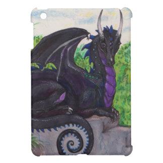 Coque Pour iPad Mini Dragon noir pourpre