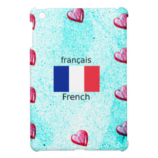 Coque Pour iPad Mini Drapeau de la France et conception de langue