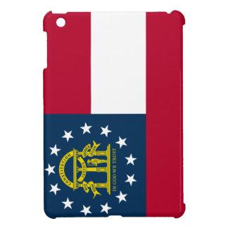 Coque Pour iPad Mini Drapeau d'état de la Géorgie