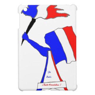 Coque Pour iPad Mini DRAPEAU FRANCE FRANCE JE SUIS ANTI CORRIDAS.png