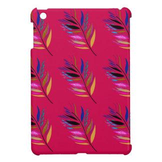 Coque Pour iPad Mini Édition sauvage de textile de feuille/plumes