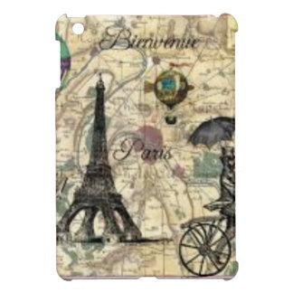 Coque Pour iPad Mini Eiffel Tower vintage Paris