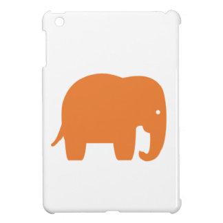 Coque Pour iPad Mini éléphant orange