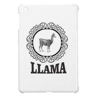 Coque Pour iPad Mini étiquette de lama