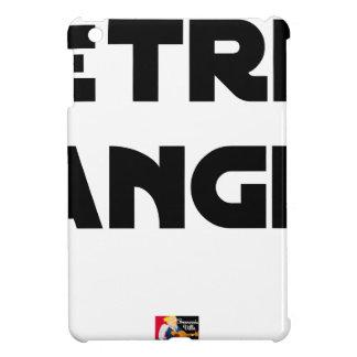 Coque Pour iPad Mini ÊTRE ANGE - Jeux de mots - Francois Ville