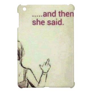 Coque Pour iPad Mini F femelle
