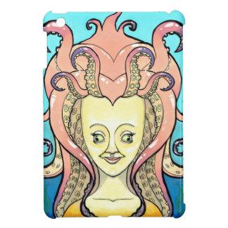Coque Pour iPad Mini femme poulpe