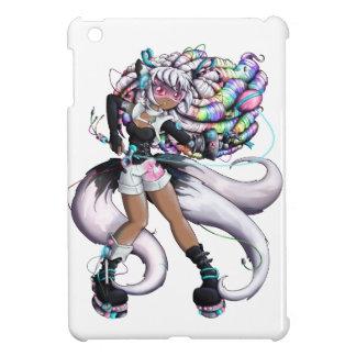 Coque Pour iPad Mini Fille de Kitsune de Cyber