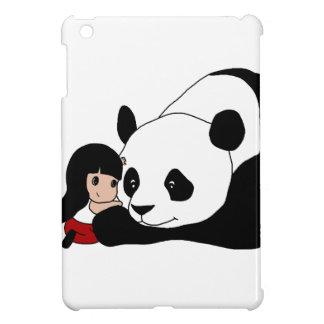 Coque Pour iPad Mini Fille et panda